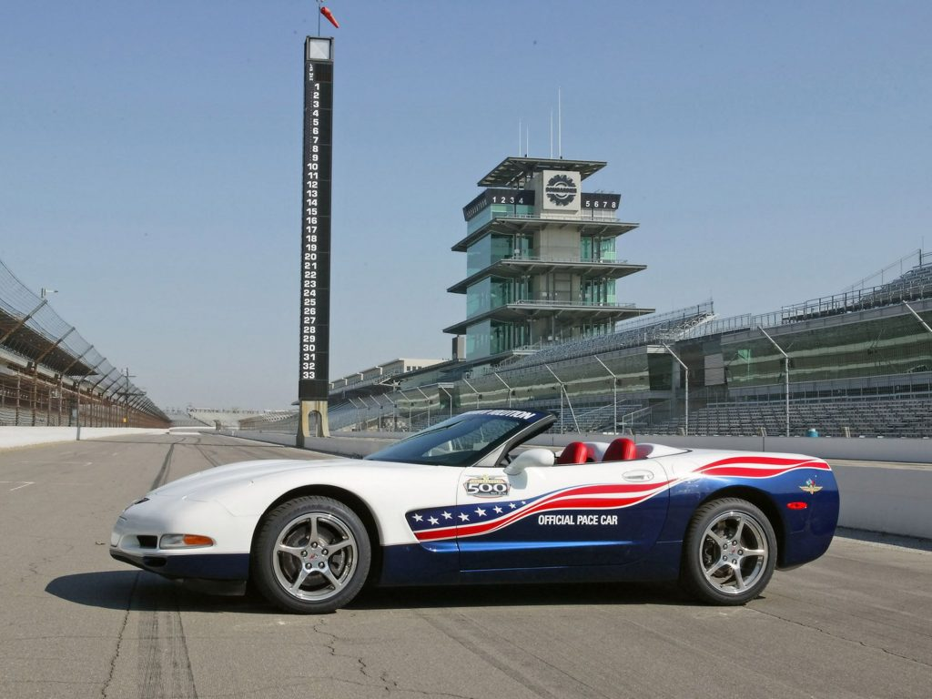 2004 Corvette Indy Pace Car Morgan Freeman