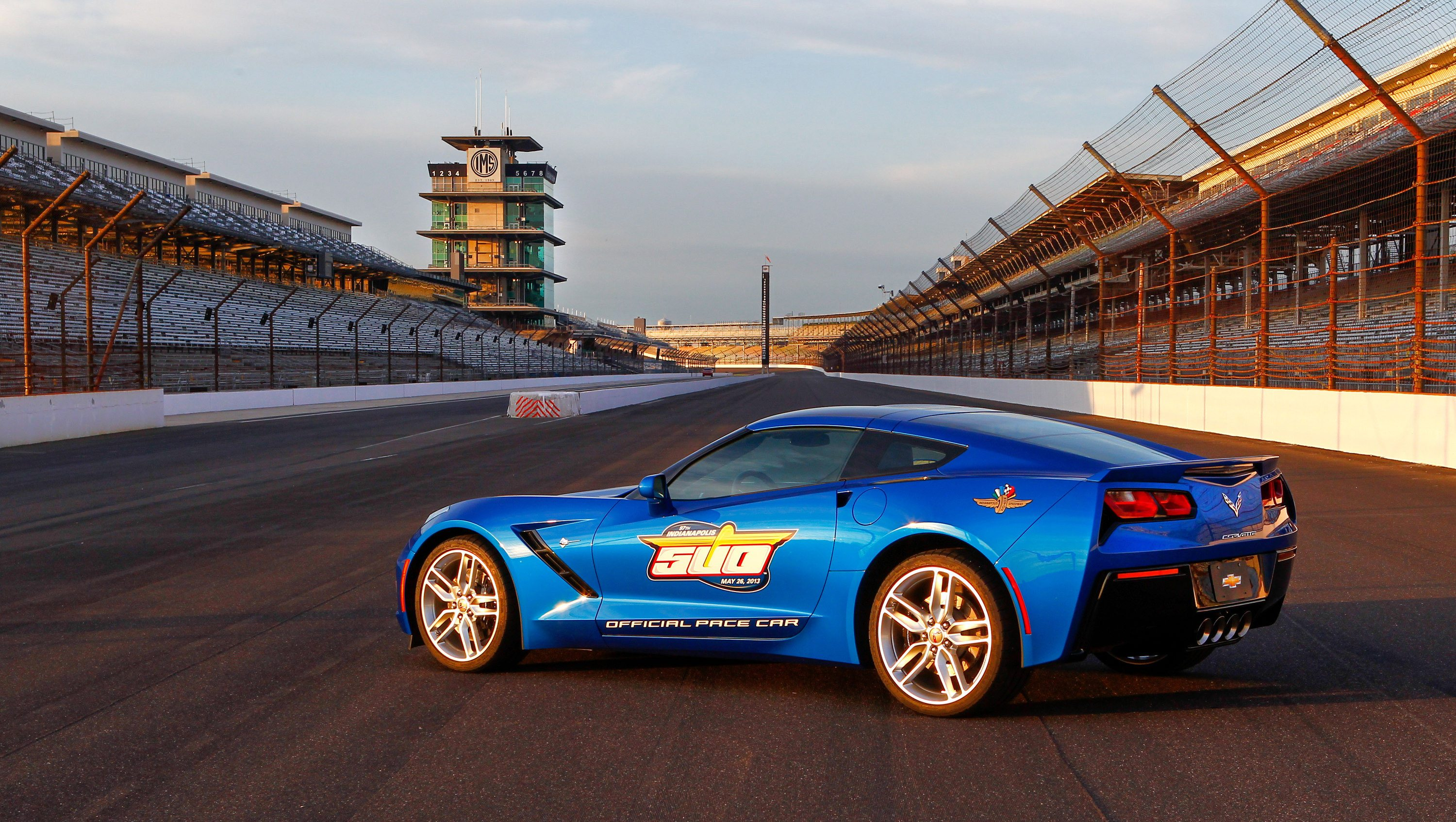 2014 Corvette Stingray 2013 Indy 500 Jim Harbaugh