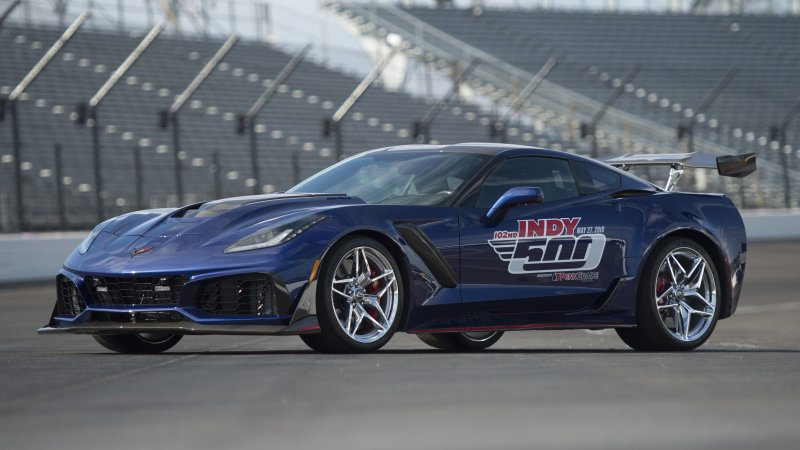 2019 Corvette ZR1 Pace Car