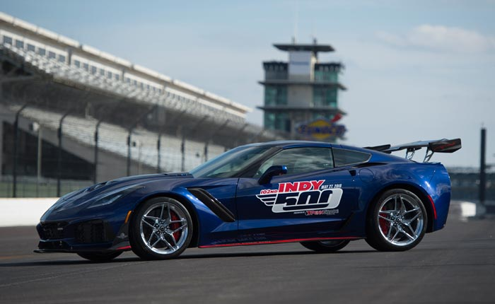Zr1 Named Official Pace Car Of The Indy 500 Racing Corvsport