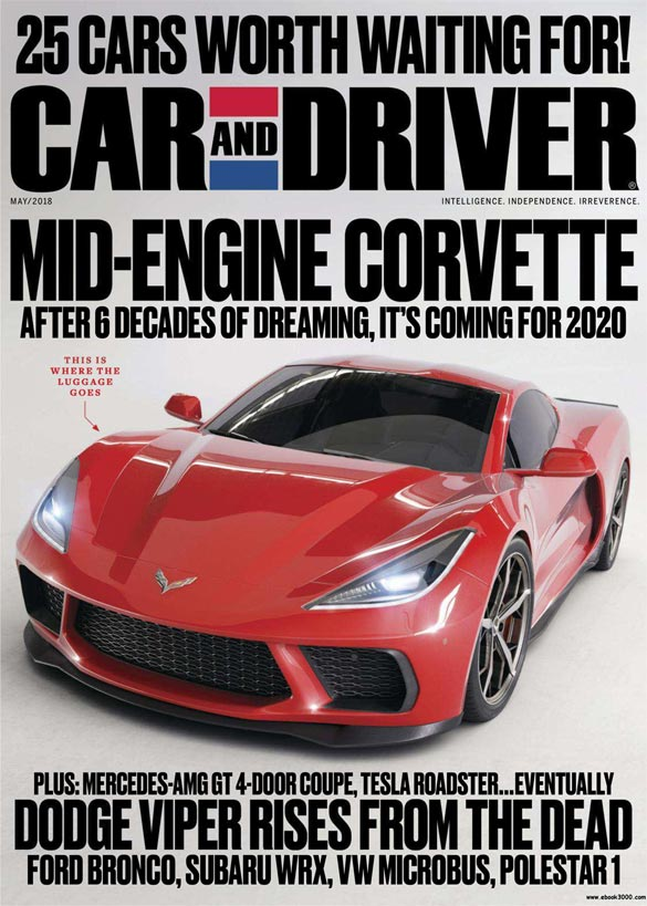 2018 mid-engine Corvette