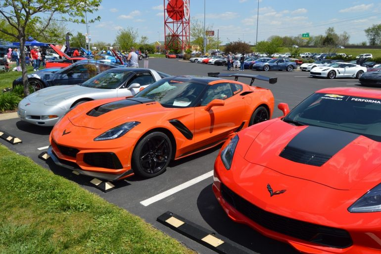2019 Corvette ZR1 2018 Corvette Bash