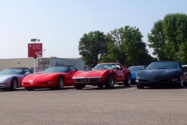 Corvettes at Mid-America Motorworks