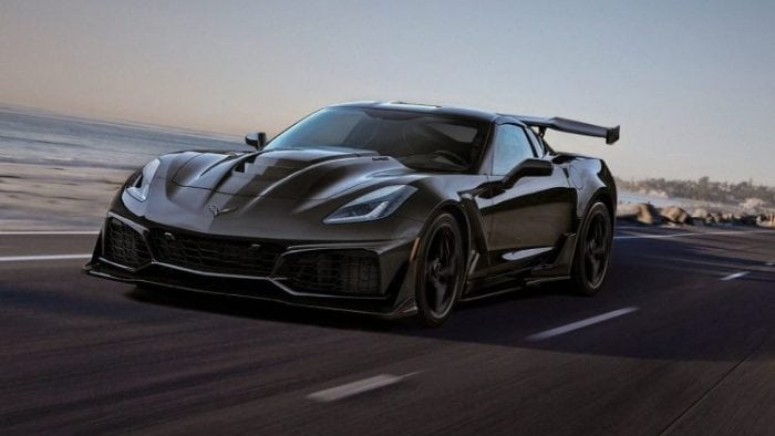 2019 Corvette ZR1 Top Track Speed