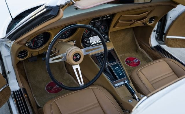 1975 Corvette Coupe Interior