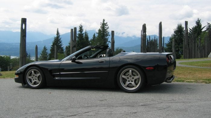 1999 Corvette Convertible black