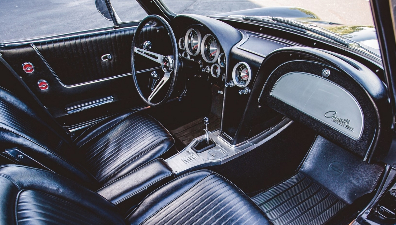 Interior 1963 Corvette Sting Ray Z06