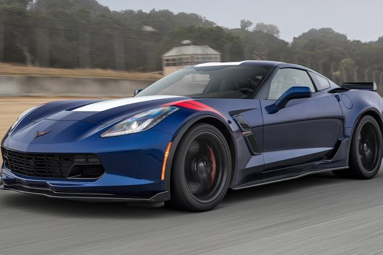 2017 Corvette Grand Sport Coupe