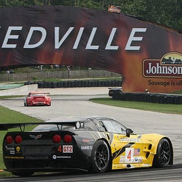 Corvette Racing at Road America