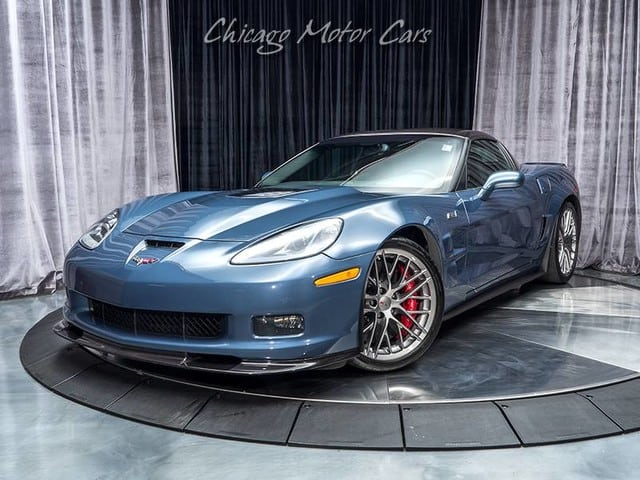 Supersonic Blue 2013 Corvette ZR1