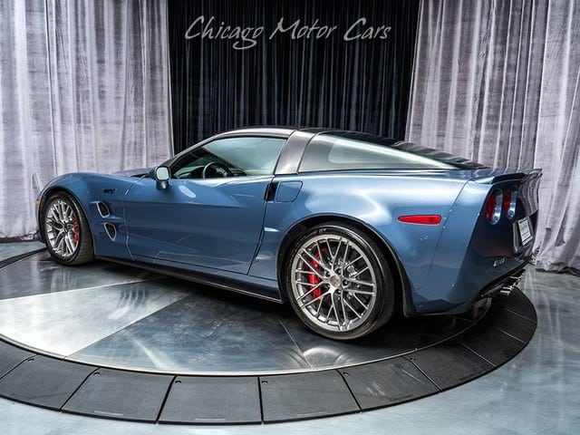 2013 Corvette ZR1 in Supersonic Blue