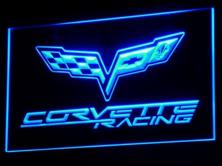 Corvette LED Neon Sign