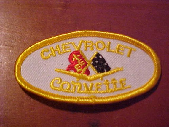 1953-1962 Vintage Chevrolet Corvette C1 Logo Patch