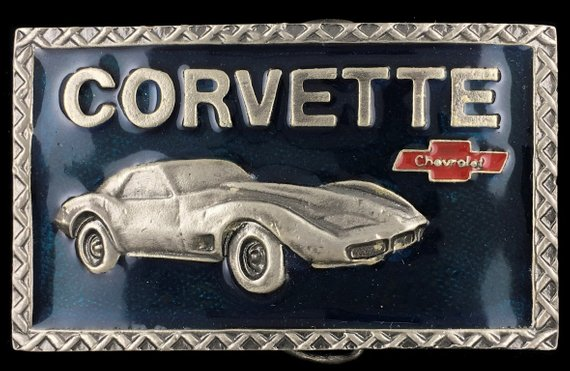 Chevy Corvette Vette Sports Collectible Memorabilia
