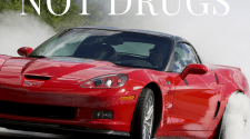 Corvette Meme - Smoke Tires Not Drugs