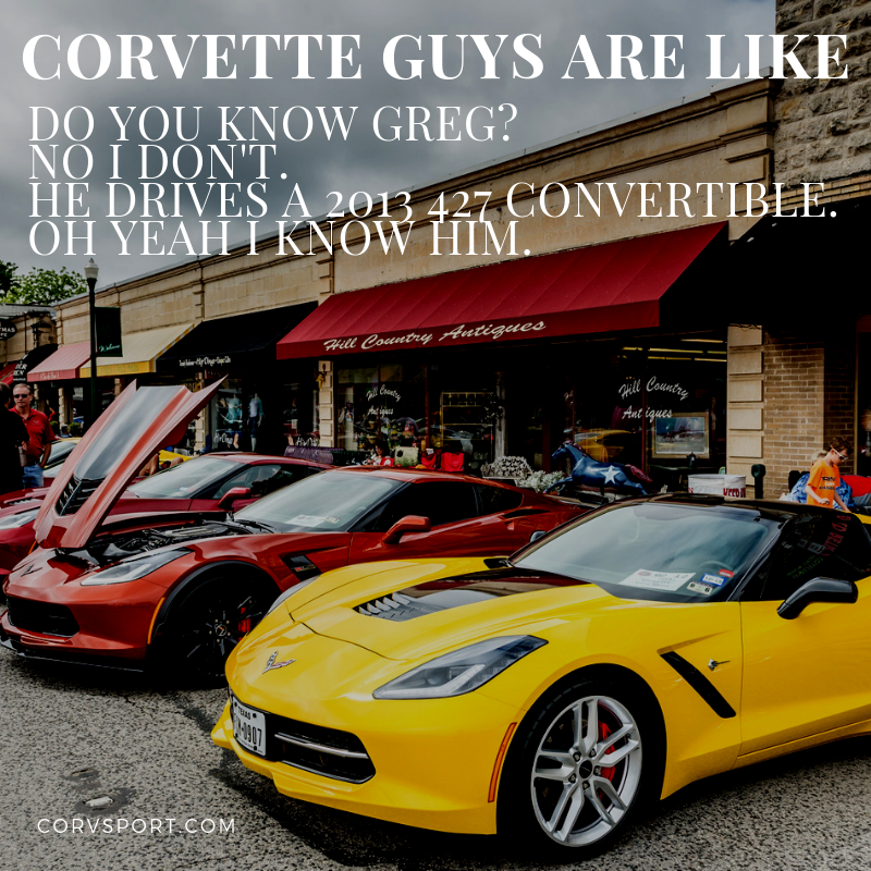 Corvette Meme: Do You Know....?