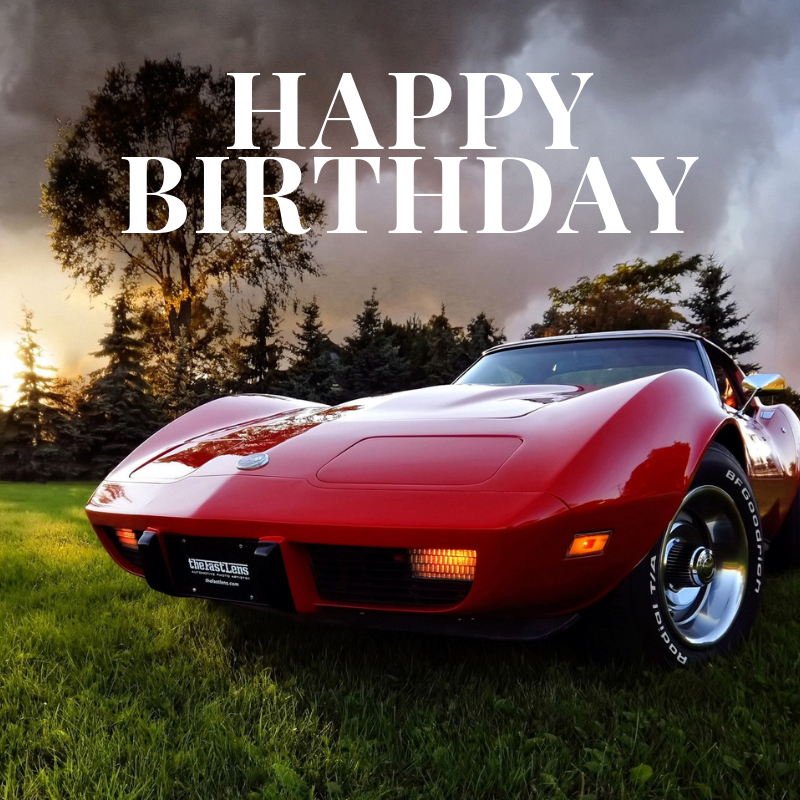 Happy Birthday Corvette