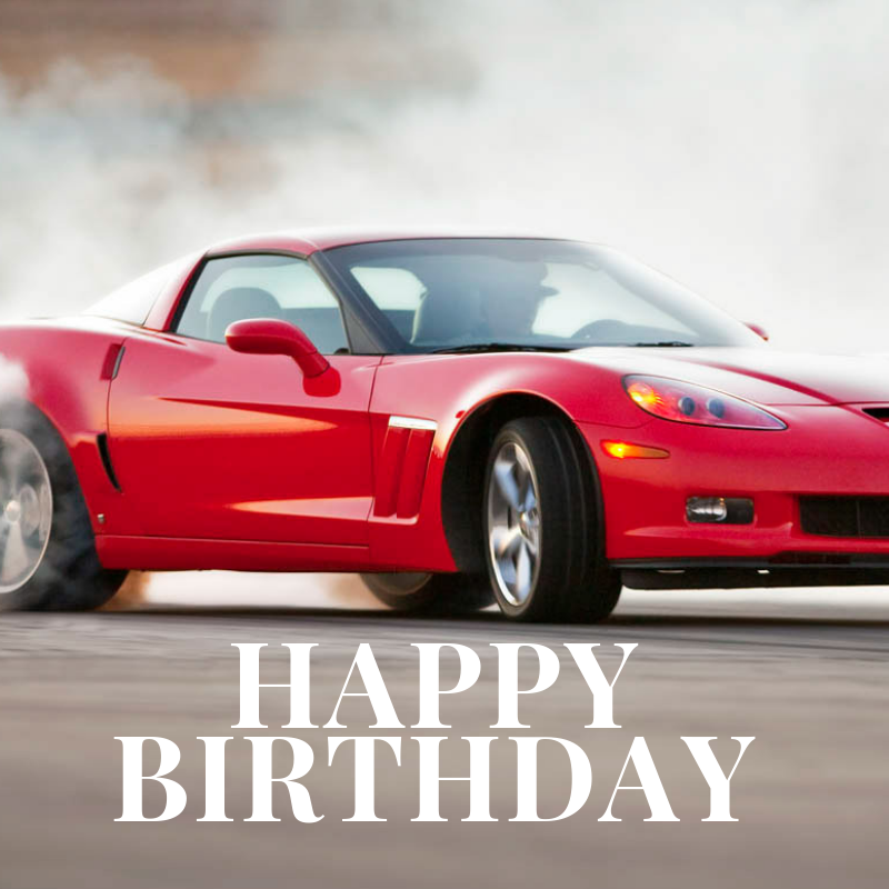 Happy Birthday Corvette Image 5