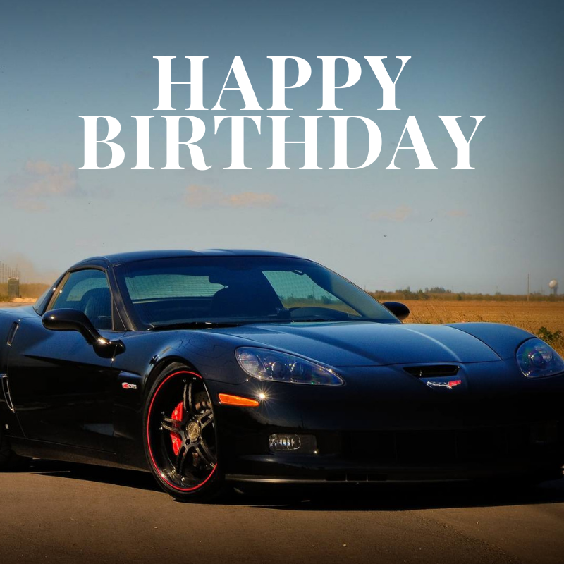 Happy Birthday Corvette Image 6