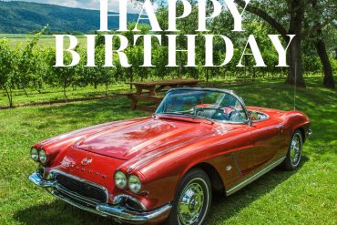 Happy Birthday Corvette Image 9