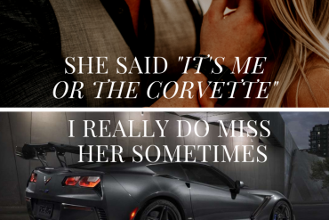 Its Me or the Corvette Meme