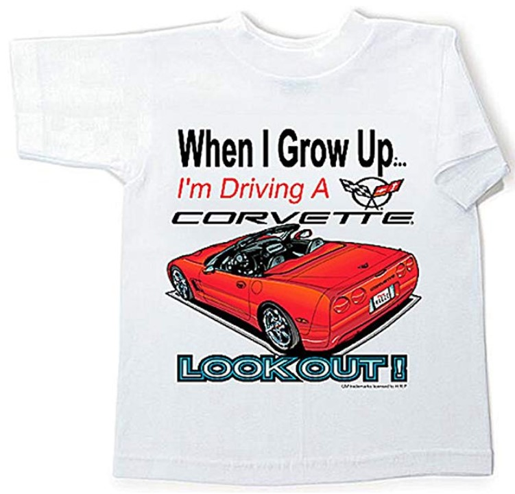 Corvette Kids Tee Shirt