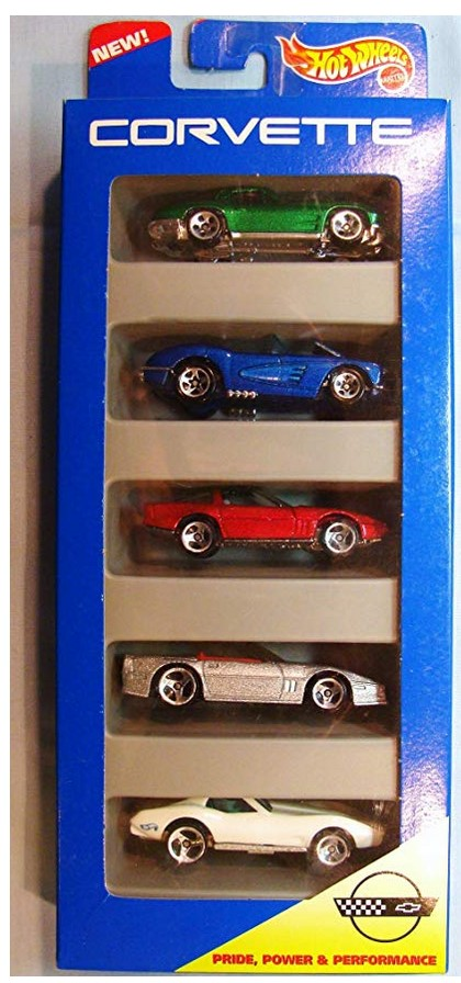 Hot Wheels Corvette Gift Pack 5