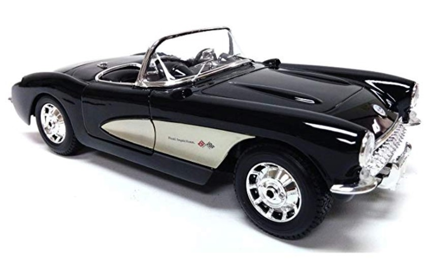 SPECIAL EDITION - BLACK 1957 CHEVROLET CORVETTE