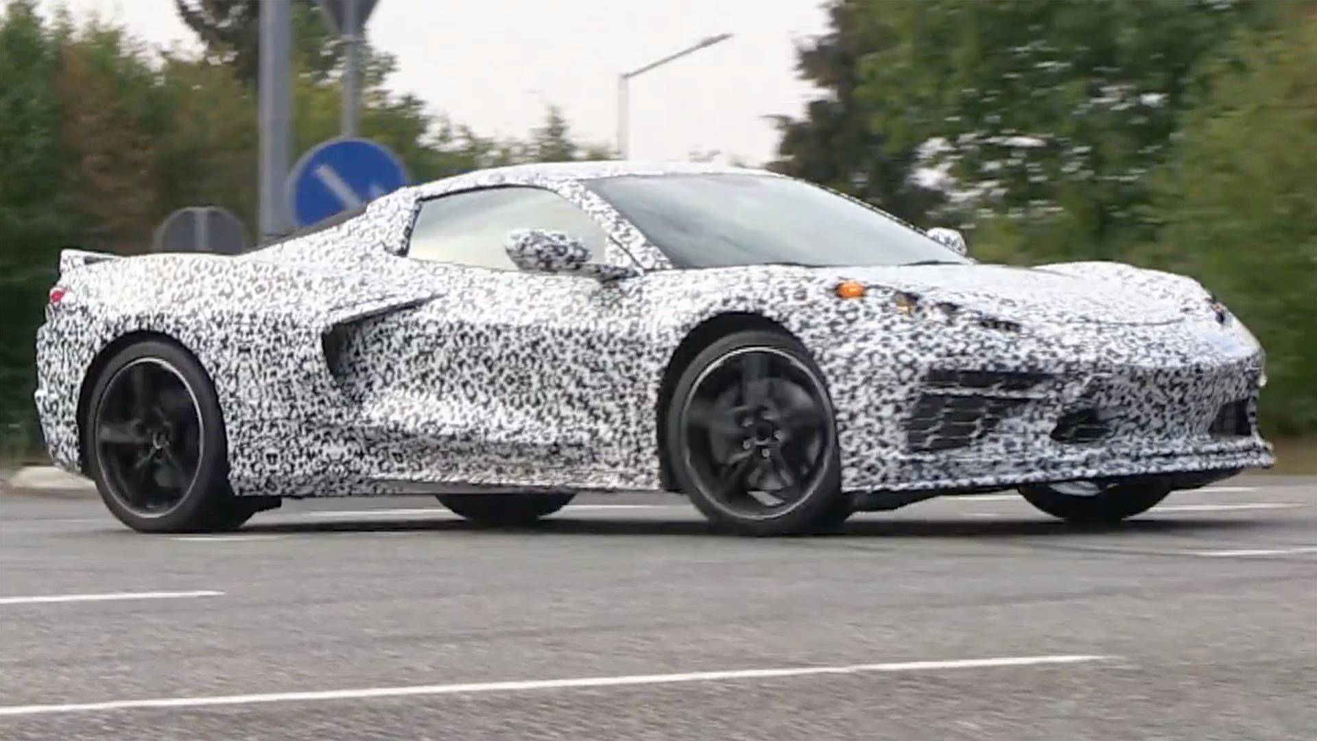 The New C8 Mid-Engine Corvette Debut Is Set for July 18th ...