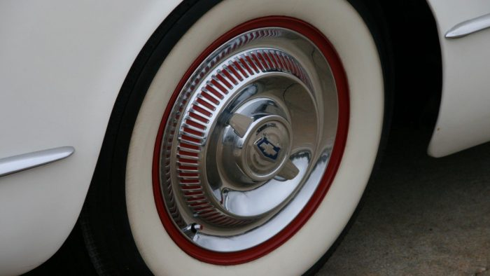 1954 Corvette wheels