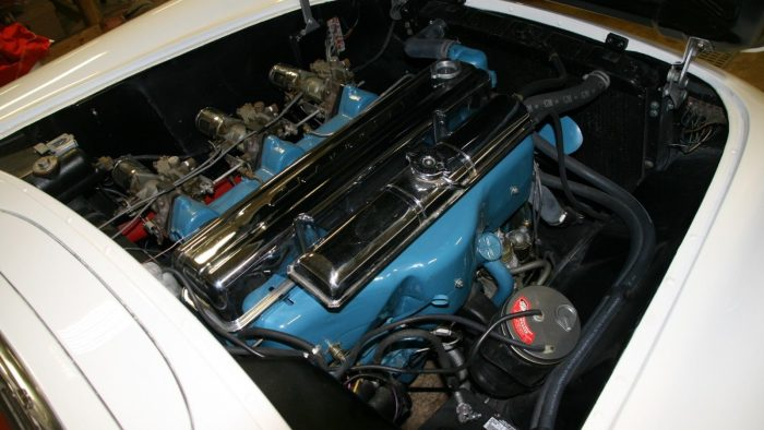 stovebolt six engine 1954 Corvette
