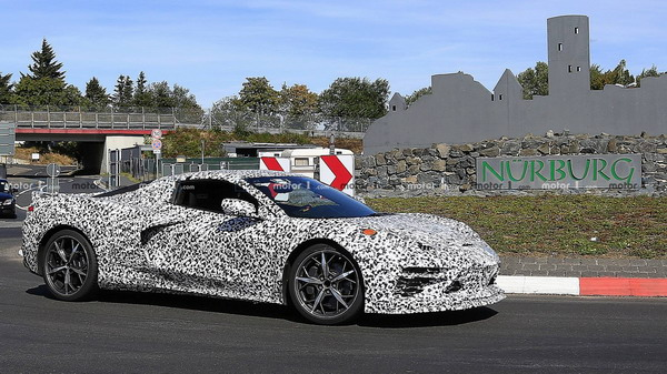 mid-engine corvette