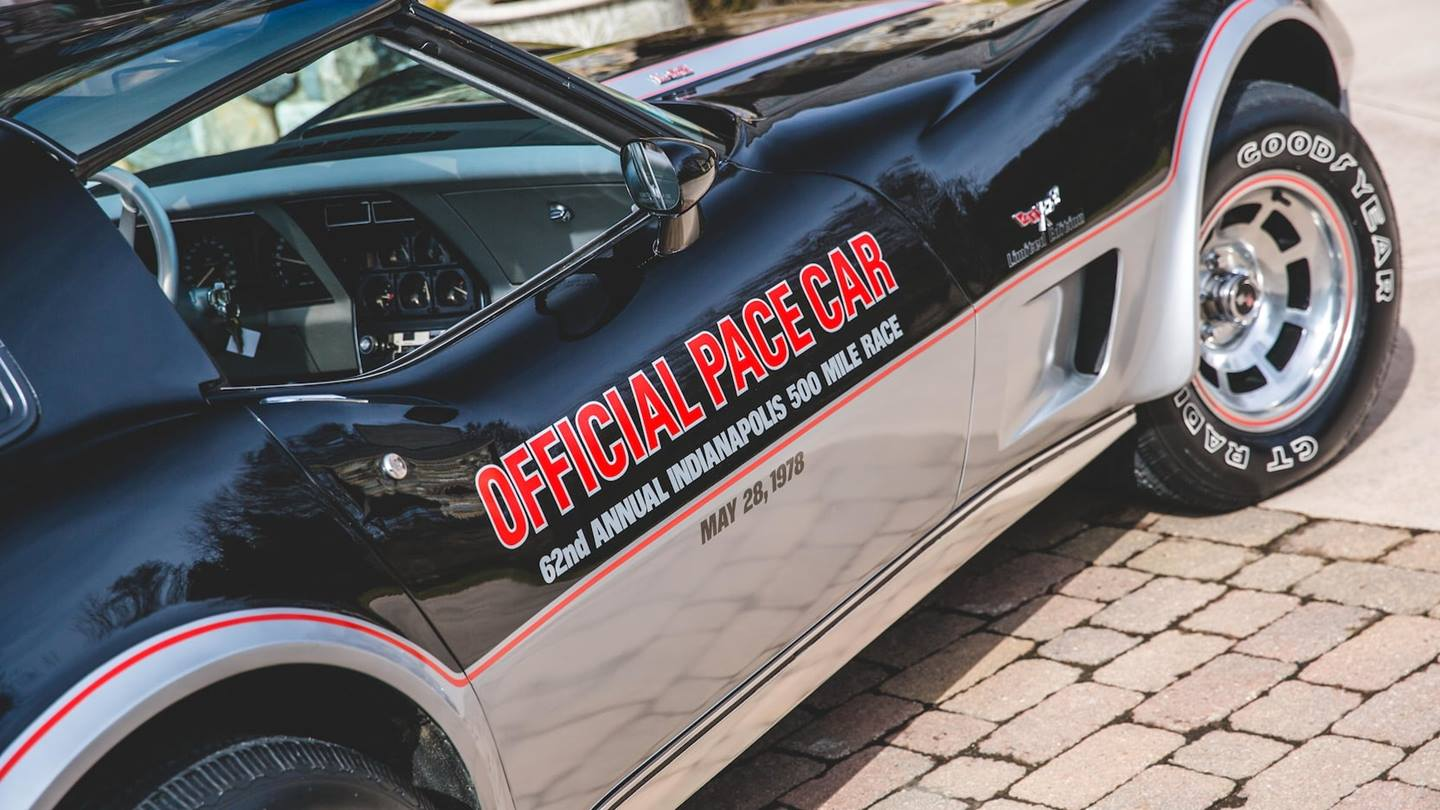 Special Editions The 1978 Indy Pace Car C3 Corvette
