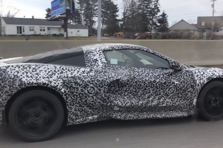 2020 C8 Corvette going to GM's proving grounds