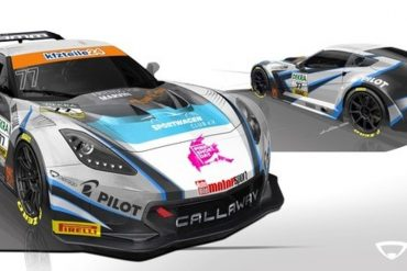 Callaway Competition New Corvette Livery