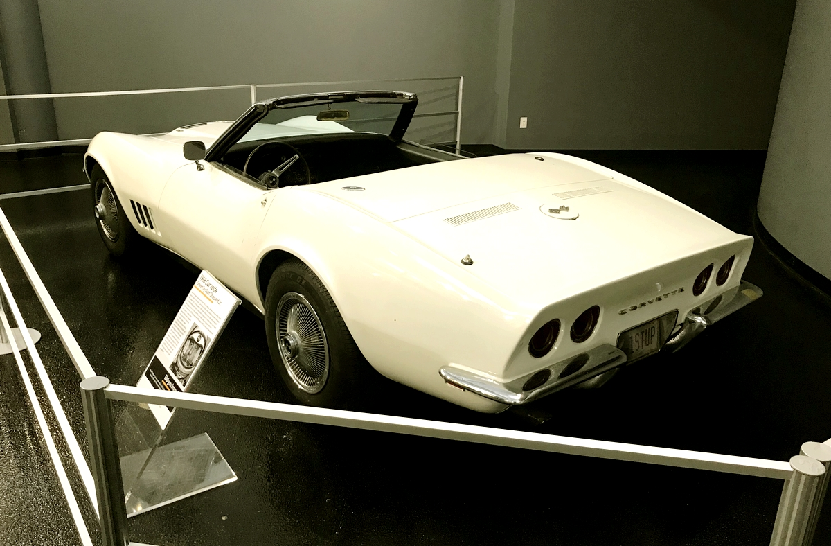 1968 Corvette driven by Alan Shepard
