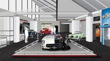 Gateway remodel rendering at National Corvette Museum