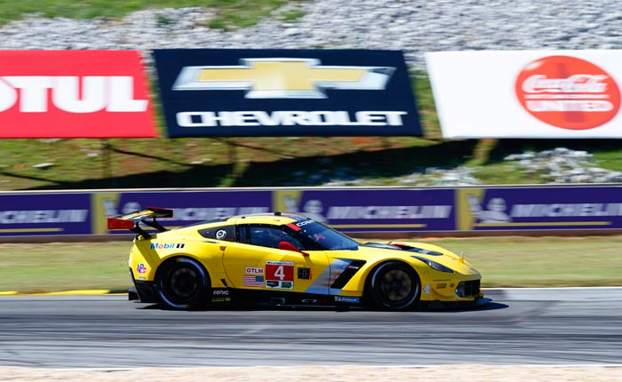No. 4 C7.R Corvette Road Atlanta