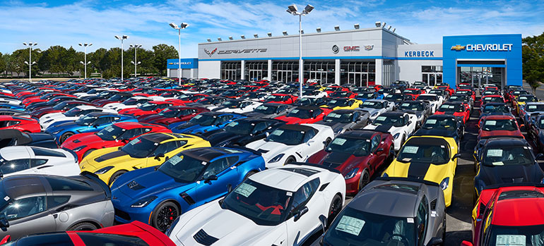 new Corvettes for sale