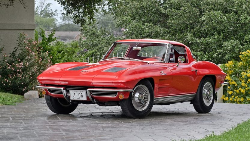 1963 Z06 Corvette Riverside Red