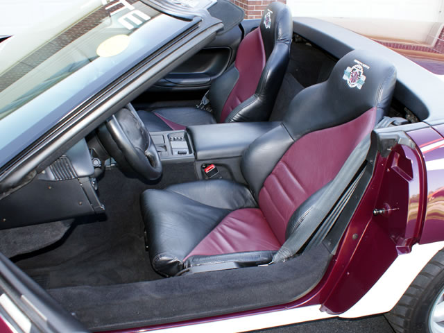 1995 Corvette Pace Car Replica interior