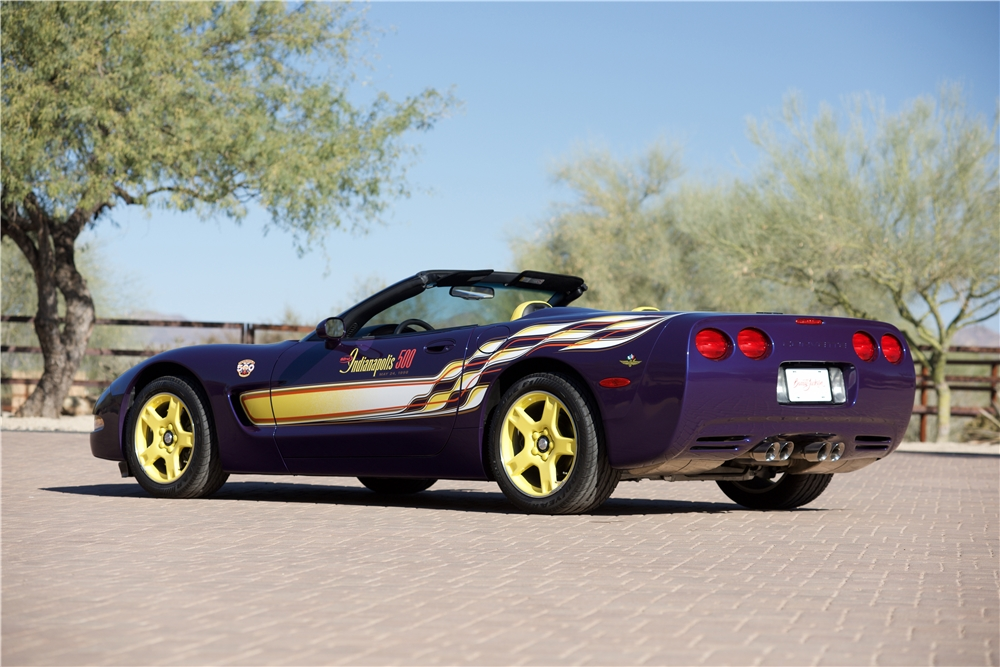 The 1998 Corvette Indy Pace Car Replica | Special Editions