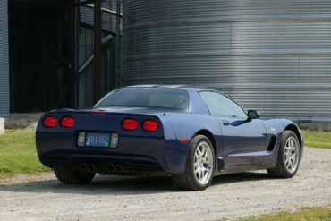 2004 Corvette Z06 Commemorative