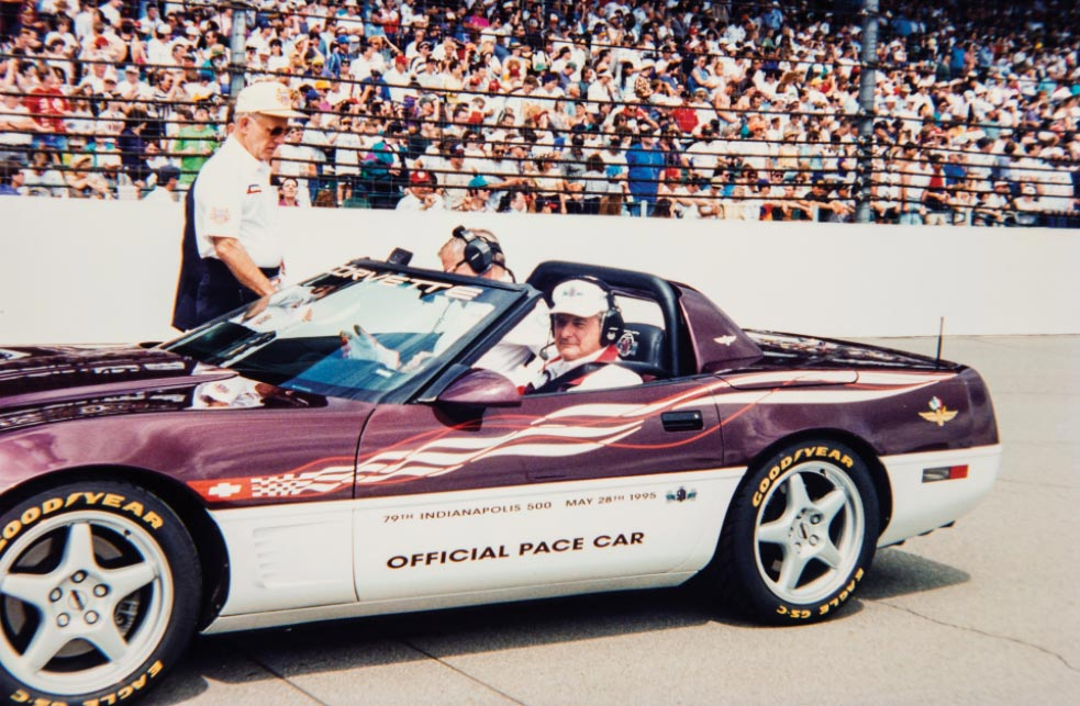 Jim Perkins 1995 Corvette Pace Car