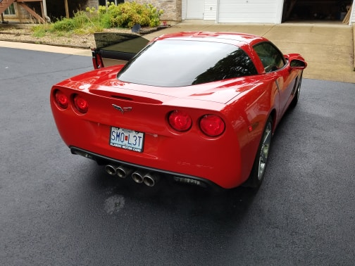 2007 Corvette for sale by Tracy Roe (Facebook)
