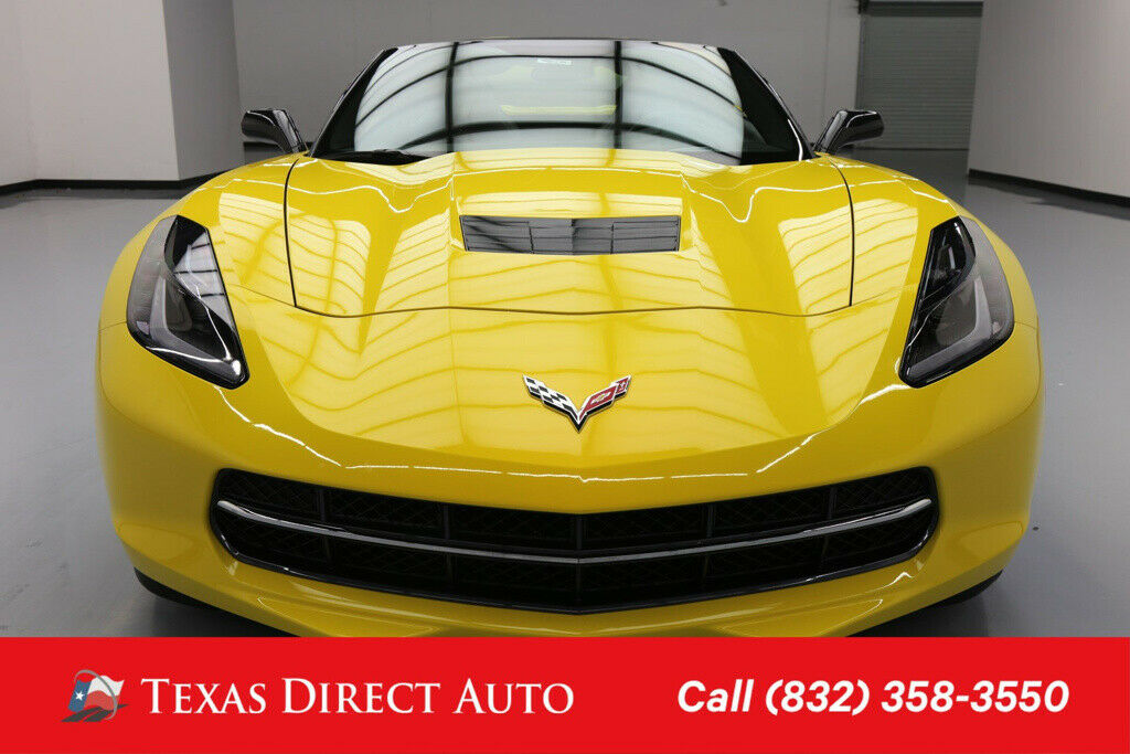 2014 Corvette Coupe Z51 with 2LT Trim Package