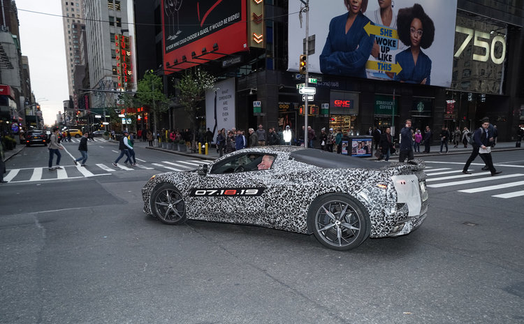Mid-Engine Corvette in New York City