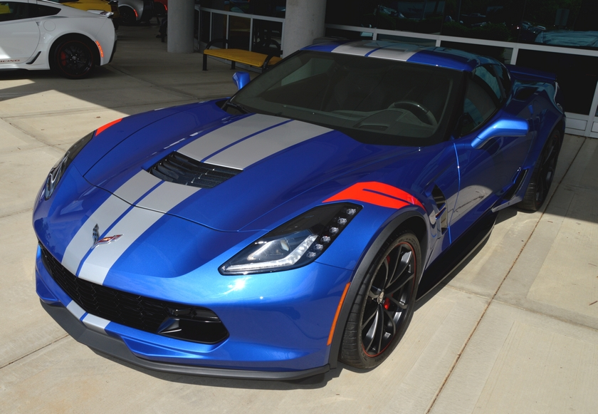 2019 Driver Edition Corvette at the NCM Michelin Bash