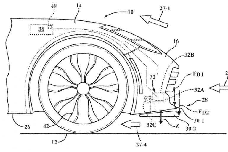 corvette active splitter patent