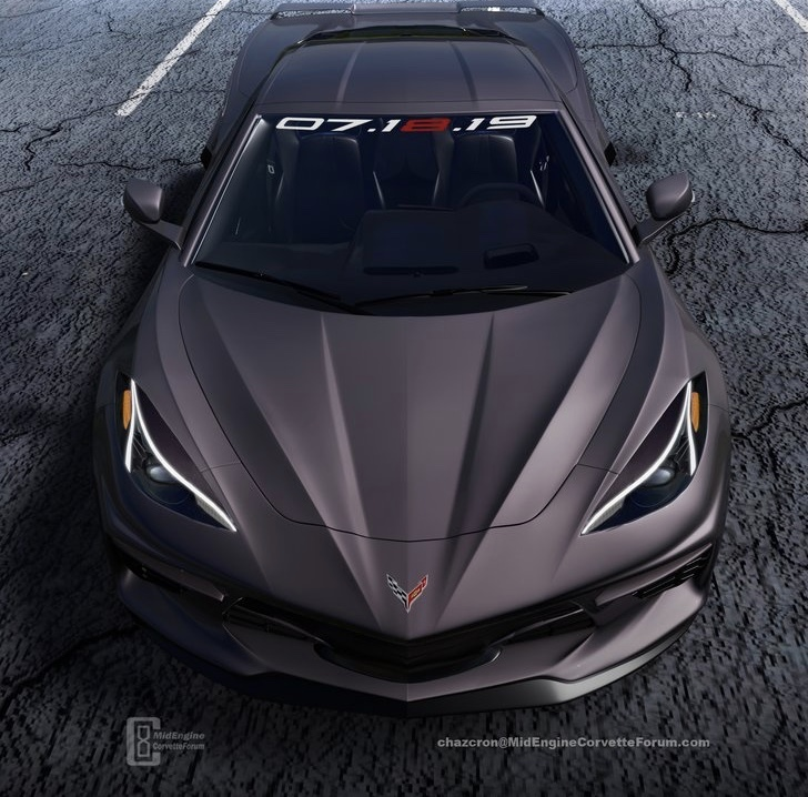 Here's Another Great Rendering of the Upcoming C8 Corvette ...
